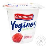 Йогурт Ehrmann Yoginos Малина 0,1% 100г - купить, цены на Ашан - фото 1