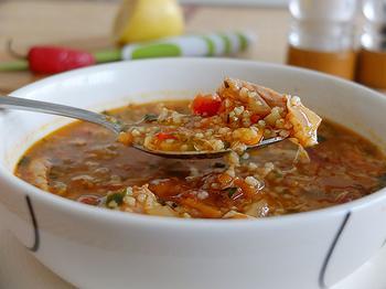 Куриный суп по-мароккански