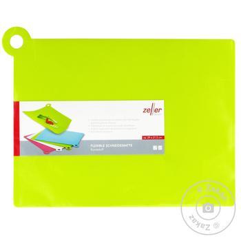 Дошка кухонна з ручкою прямокутна в асортименті пластик 30*21см - купити, ціни на МегаМаркет - фото 1
