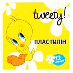Cool For School Tweety Plasticine 12 Colors 240g