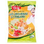 Суп Varto овощной с грибами замороженный 400г