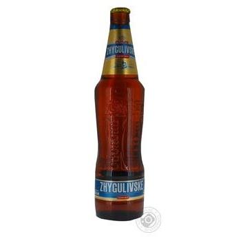 Пиво Оболонь Жигулевское Экспорт светлое 4,1% 0,5л