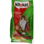 Корм сухий Kitekat для котів м'ясний бенкет 2,4кг