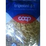 Макаронні вироби tripolini 81 COOP 500г Італія