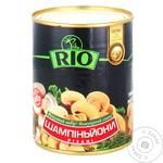 Mushrooms cup mushrooms Rio cut 330g can