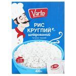 Рис Varto круглый шлифованный в пакетиках 4шт х 100г