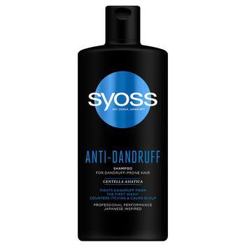 Шампунь Syoss Anti-Dandruff с Центеллой Азиатской для волос, склонных к перхоти 440 мл