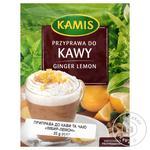 Приправа Kamis к кофе и чаю имбирь-лимон 20г - купить, цены на Novus - фото 1