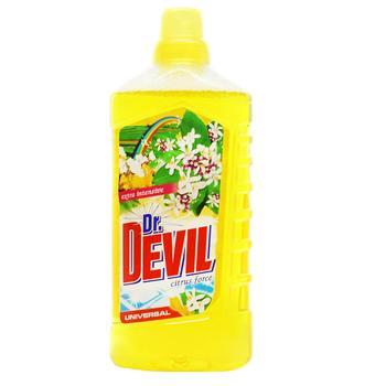 Средство Dr. Devil Citrus Force моющее жидкое универсальное 1л