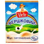 Сыр Varto Сливочный плавленый 55% 90г