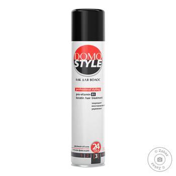 Лак для волос Domo Style сильная фиксация 300мл