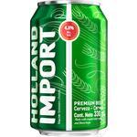 Пиво Holland Import світле фільтроване 4,8% 0,33л