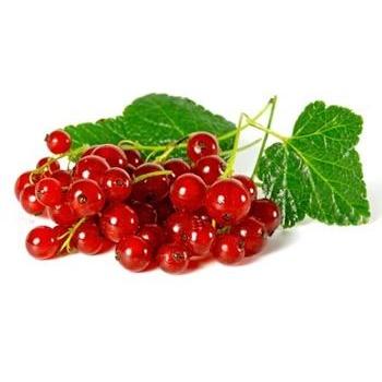 ягода красная смородина свежая