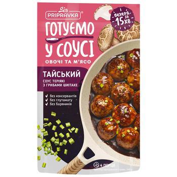 Соус Pripravka Тайський Теріякі з грибами шиїтаке 140г - купити, ціни на Ашан - фото 1