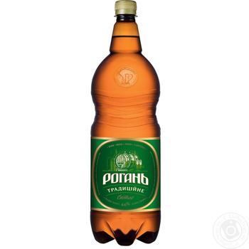 Пиво Рогань Традиционное светлое 4,8% 2л