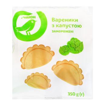 Вареники Ашан с капустой замороженные 350г - купить, цены на Ашан - фото 1