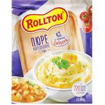 Пюре картофельное Роллтон с жареным луком быстрого приготовления 40г
