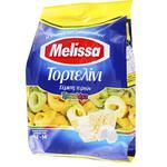 Макаронні вироби Melissa тортелліні трьокольорові фаршировані сиром яєчні 250г