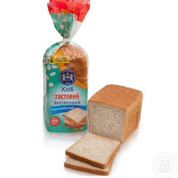 Хлеб тостовый Кулиничи Европейский отрубной 350г - купить, цены на Novus - фото 1