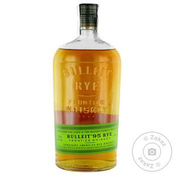 Bulleit 95 RYE Whiskey 45% 0,7l - buy, prices for CityMarket - photo 1