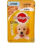 Puppies food Pedigree with chicken 100g