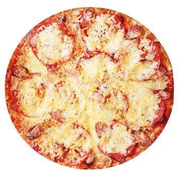 Піца з мисливськими ковбасками 500г