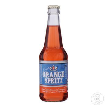 Напій слабоалкогольний Оболонь Orange Spritz сильногазированный 8% 0.33л - купити, ціни на Novus - фото 1
