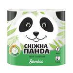 Бумага туалетная Сніжна панда Бамбук 4шт