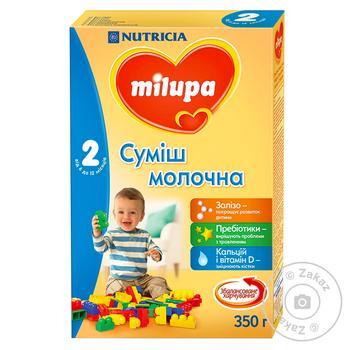 Смесь молочная сухая Milupa 2 350г - купить, цены на Novus - фото 1