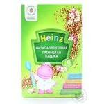 Каша детская Хайнц Гречневая кашка низкоаллергенная сухая быстрорастворимая с 4 месяцев 200г Россия