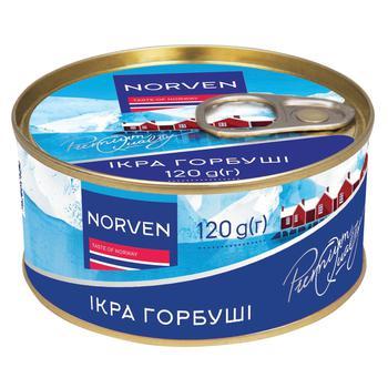 Икра лососевая Norven горбуши 120г