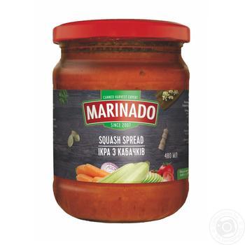 Ікра з кабачків ТМ Маринадо 0,48л - купити, ціни на Метро - фото 1