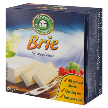 Сыр Kaserei Export Brie с плесенью 50% 125г - купить, цены на Космос - фото 1