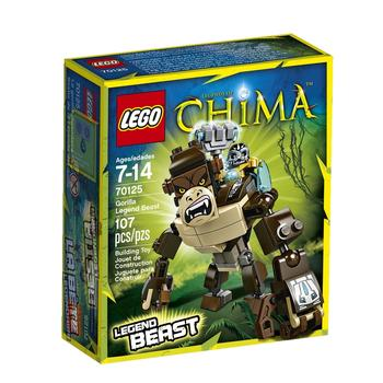 Construction toy Lego Chima  Gorilla Legend Beast for 7 to 14 years children 106 pieces