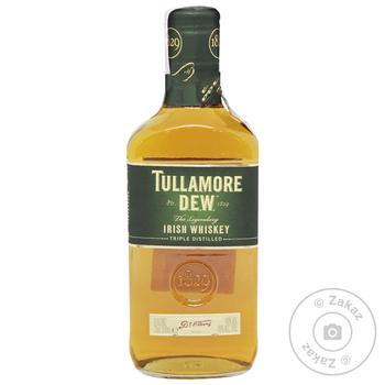 Віскі Tullamore Dew 40% 0,35л - купити, ціни на МегаМаркет - фото 1