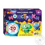Настольная игра Ranok Монстрики 12120077У