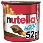 Nutella Hazelnut And Cocoa Spread And Breadsticks (Nutella&GO) 52g
