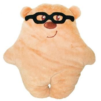 Tigres Teddy Bear with Glasses Soft Toy