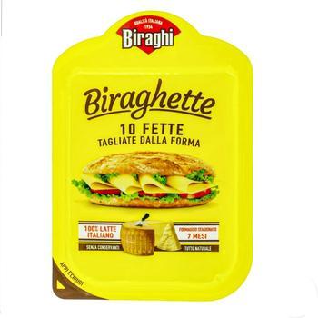 Сыр Gran Biraghi  твердый нарезанный 32% 120г - купить, цены на Ашан - фото 2