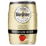 Пиво Warsteiner Premium светлое 4,8% ж/б 5л
