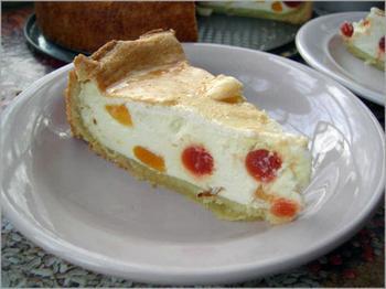 Немецкий творожный торт