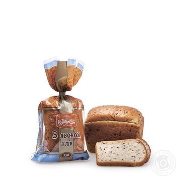 Хліб Рум'янець з льоном нарізаний 350г - купити, ціни на Ашан - фото 2