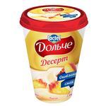 Dolce Peach Flavored Cottage Cheese Dessert 3,4% 400g