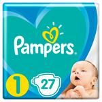 Pampers New Baby Diapers Size 1 2-5 kg 27pcs