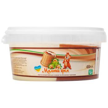 Паста Мульті Крем кондитерська з какао та лісовими горіхами 450г - купити, ціни на ЕКО Маркет - фото 1