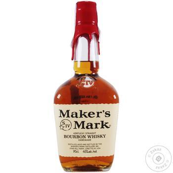 Виски Maker's Mark 45% 700мл - купить, цены на Novus - фото 1