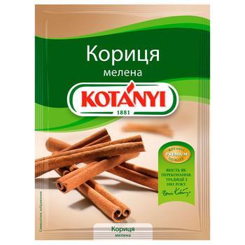 Корица Kotanyi молотый 25г
