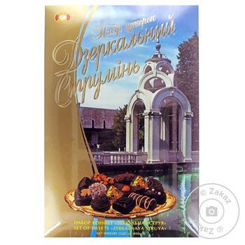 Набор конфет Бисквит-Шоколад Зеркальная струя 450г