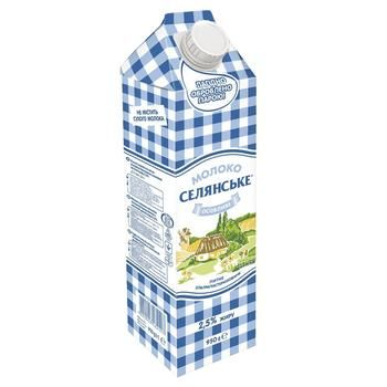 Selianske Special Ultra-Pasteurized Milk 2,5% 950g