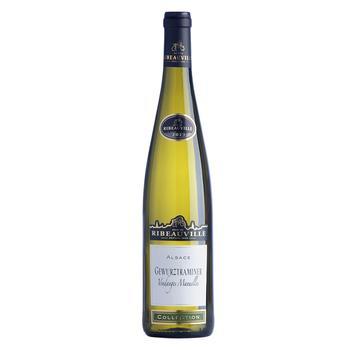 Cave de Ribeauville Gewurztraminer  Vendanges Manuelles white-semi-dry wine 13% 0,75l